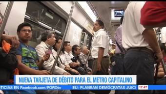 Nueva tarjeta de débito para el metro capitalino