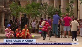 ONU pide fin del embargo en Cuba, Estados Unidos vota en contra