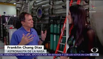 El astronauta Franklin Chang-Díaz en Al Aire