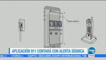 Integran alerta sísmica a la App 911 de la CDMX