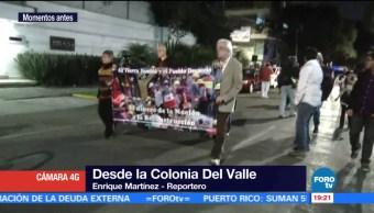 Realizan procesión en memoria de víctimas del edificio de Gabriel Mancera