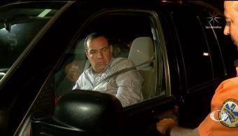 Panista en Jalisco choca y se queda dormido en su auto