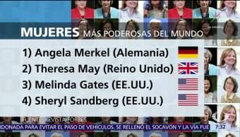Angela Merkel es la mujer más poderosa del mundo, según Forbes