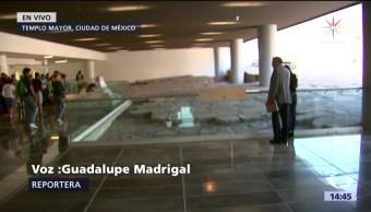 Nuevo vestíbulo del museo del Templo Mayor