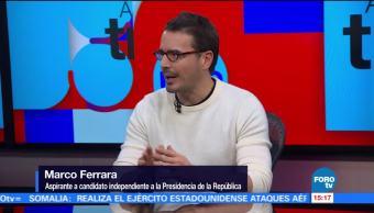 Marco Ferrara y Arturo Espinosa hablan de las fallas en aplicación INE