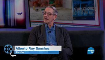 Alberto Ruy Sánchez platica de: 'Las amargas lágrimas de Petra Von Kant'