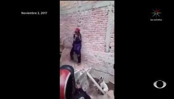 Hombre amenaza con matar a su hija en Aguascalientes