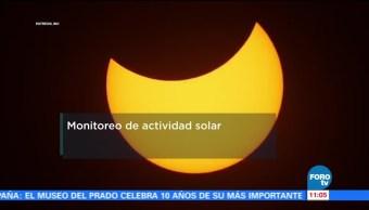 Monitoreo de actividad solar. La radioastronomía