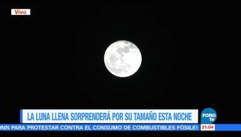 Se registra luna llena 'escarchada' este sábado