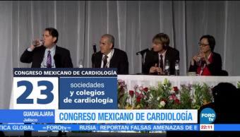 Realizan Congreso Mexicano de Cardiología en Guadalajara