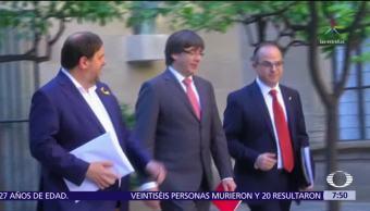 Liberan a Puigdemont con medidas cautelares