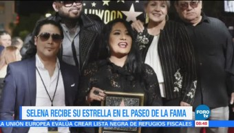 #LoEspectaculardeME: Selena recibe su estrella en el Paseo de la Fama
