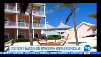 Líderes involucrados en inversión en paraísos fiscales