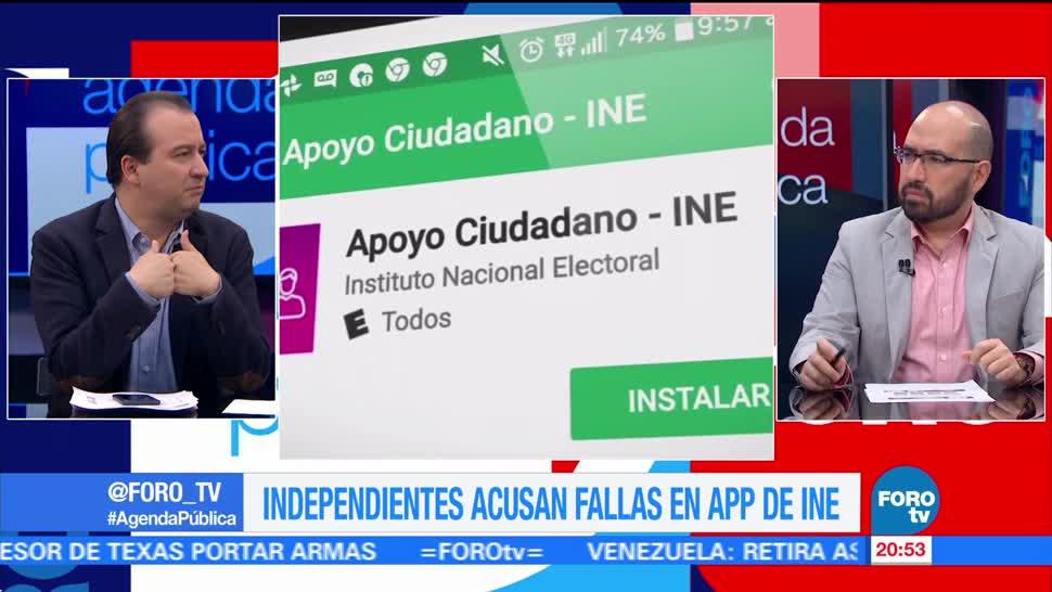 La app del INE y los aspirantes a candidatos independientes