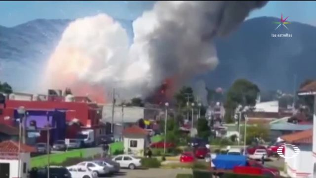 Explota taller irregular de pirotecnia en Chiapas
