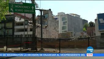 Vecinos de Álvaro Obregón 286 piden agilizar labores de limpieza tras sismo