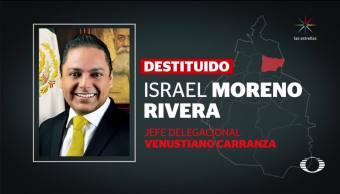 SCJN destituye al delegado en Venustiano Carranza