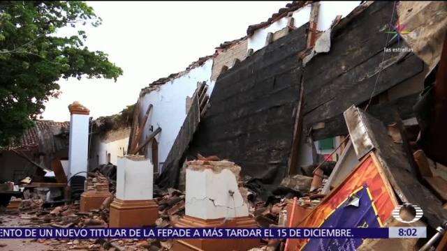 Sismos de septiembre ocasionan pérdidas millonarias en patrimonio cultural