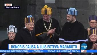UNAM entrega Honoris Causa a Víctor García de la Concha