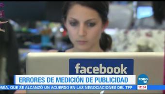 Facebook confirma los dos nuevos errores de medición de publicidad