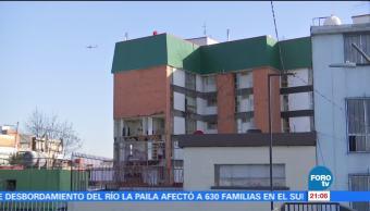 Vecinos del conjunto habitacional Plaza Narvarte viven en incertidumbre