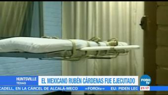 Últimas horas del mexicano Rubén Cárdenas
