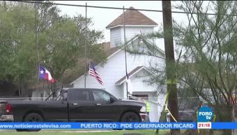 Demolerán la iglesia del tiroteo en Texas