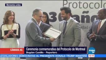 Pacchiano participa en la ceremonia conmemorativa del Protocolo de Montreal