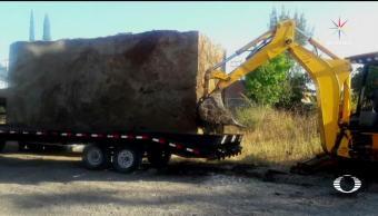Huachicoleros entierran tanque con 30 mil litros de gasolina