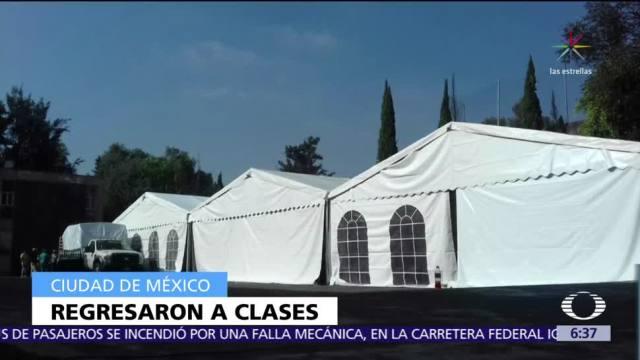 Este lunes, todos los alumnos de la CDMX reanudan clases tras sismo