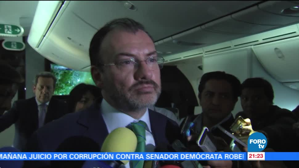 El objetivo es lograr un buen TLCAN para México: Videgaray