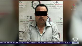 Detienen al líder de 'Los mazatlecos' en Querétaro