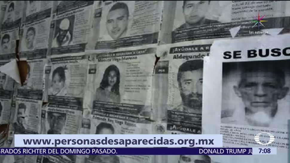 Organización civil identifica a los 32 mil desaparecidos en México