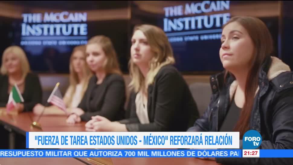 Fuerza de tarea Estados Unidos - México reforzará relación