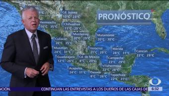 Despierta con Tiempo: Zona de inestabilidad provocará tormentas en Chiapas y Tabasco