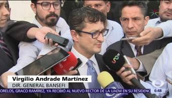 Bansefi presenta denuncia ante PGR por clonación de tarjetas para damnificados