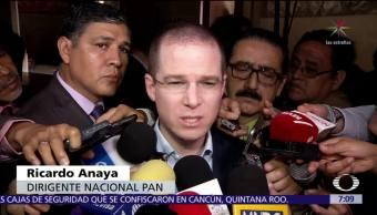 Anaya responde a Mancera por solicitud sobre candidato del Frente Ciudadano