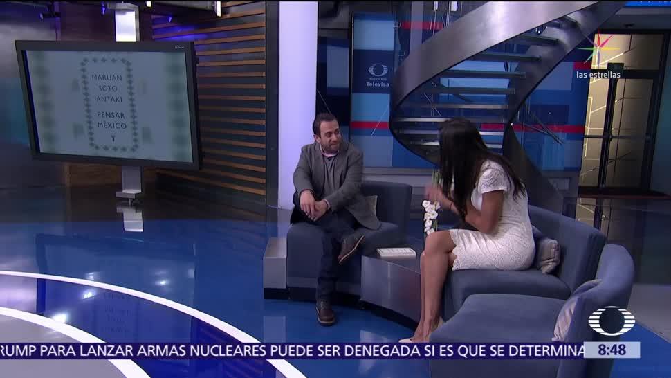 Maruan Soto Antaki presenta 'Pensar México'