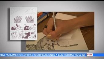 El trabajo de la ilustradora Daniela Martín del Campo
