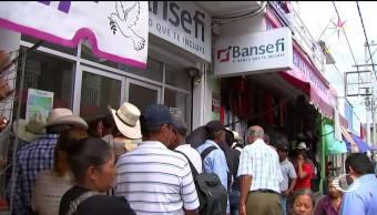En Chiapas entregaron a damnificados tarjetas ya clonadas