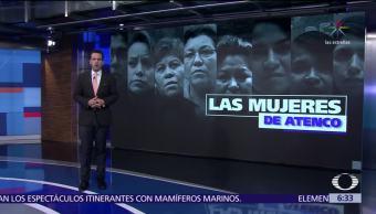 Cinco mujeres violadas en México buscarán justicia en el mundo