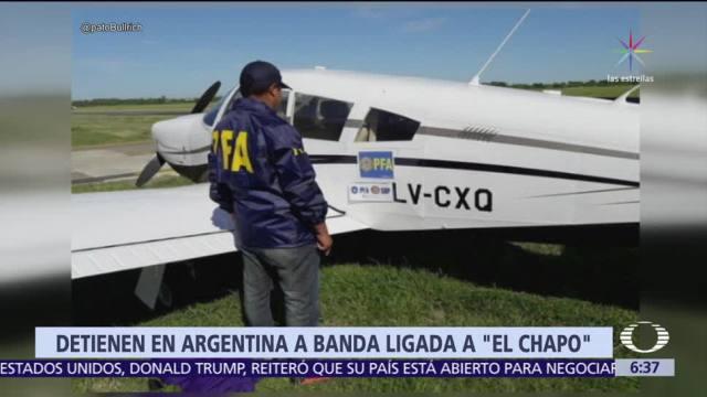 Detienen en Buenos Aires a 7 personas vinculadas al Cártel de Sinaloa