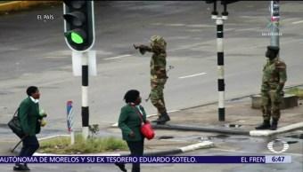 El Ejército de Zimbabue mantiene tomada la capital, Harare