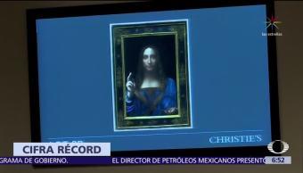 Cuadro de Leonardo Da Vinci es subastado en 450 mdd