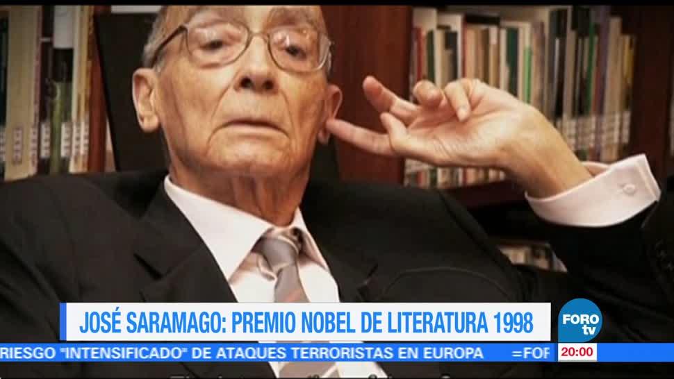 Efeméride En Una Hora: A 95 años del nacimiento de José Saramago