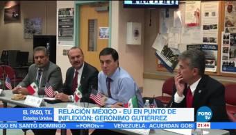 Relación Estados Unidos México en un punto de inflexión: Gerónimo Gutiérrez