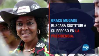 Ejército pone en arresto domiciliario al presidente de Zimbabue