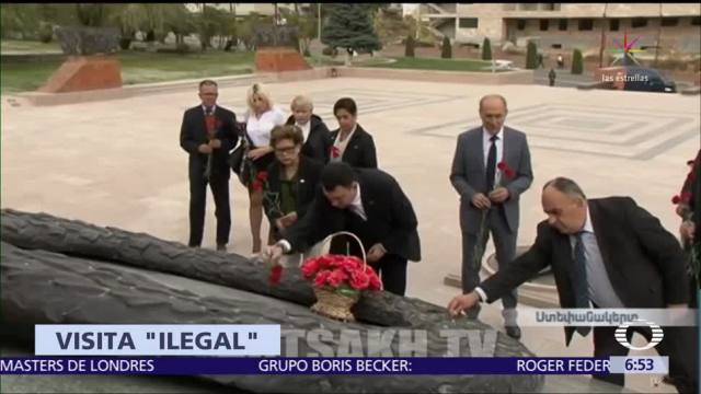 Representante de Azerbaiyán protesta por visita de mexicanos a territorio ocupado
