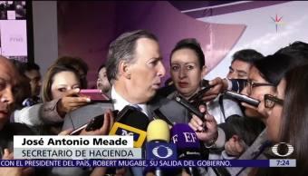 Meade garantiza que se mantendrá estímulo fiscal a gasolinas en 2018