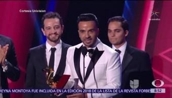 Despacito, máximo ganador en premios Grammy Latinos